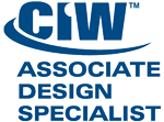 Cdanio Bacon CIW Certified Associate Design Specialist, Internet Web Professional, Web Design Specialist